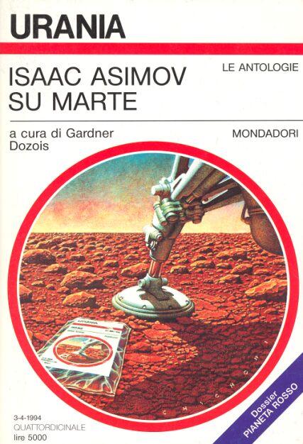 "Copertina ""Isaac Asimov su Marte"""